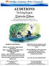 AUDITIONS FOR THE LIVING STORYBOOK TOUR AUGUST 25,2012